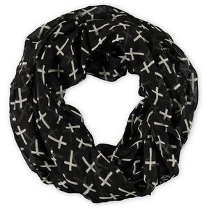 Accessories - Infinity cross scarf